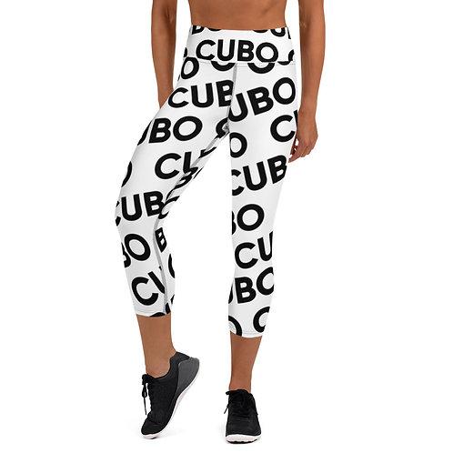 CUBO Pattern Yoga Capri Leggings