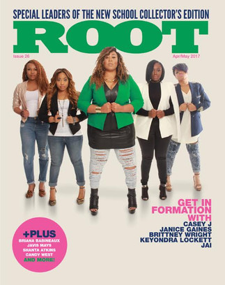 Root Magazine Leaders of the New School (LOTNS) Magazine Cover