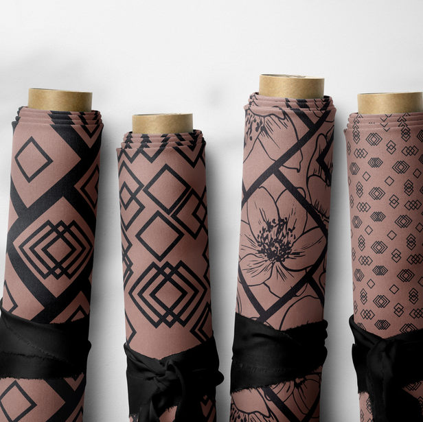 Pattern collection 10 geometric patterns Quadra
