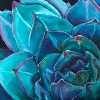 verplant blauw