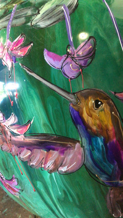 Kolibrie groen