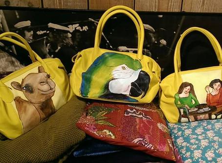 Pak de zomer in een leuke zelf beschilderde tas!
