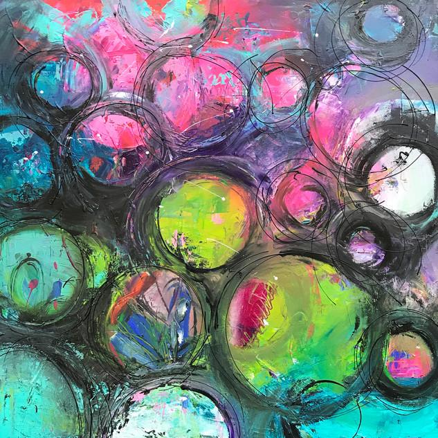 gekleurde cirkels