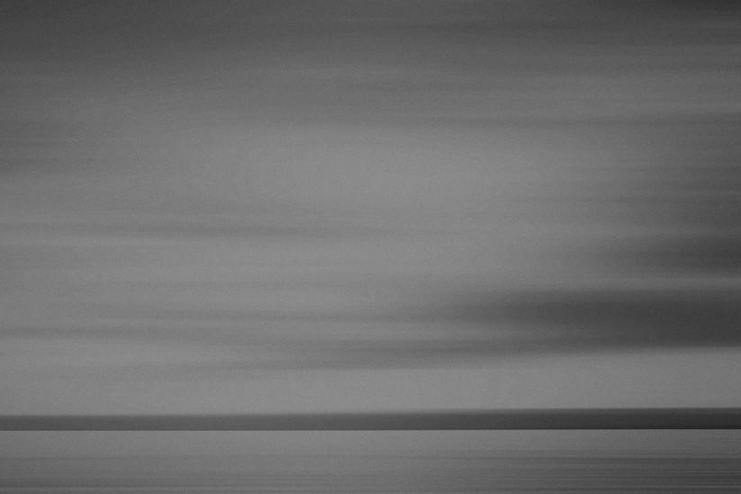 Dead sea #2, Jordan in black & white