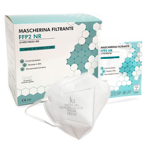 Mascherina Filtrante FFP2 - CE - 50 pezzi (1 scatola)