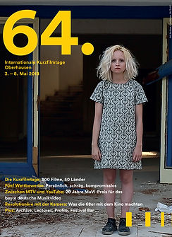 Cover page of Oberhausen's magazine 2018