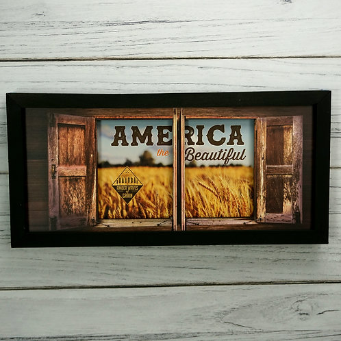 America The Beautiful-Amber Waves of Grain