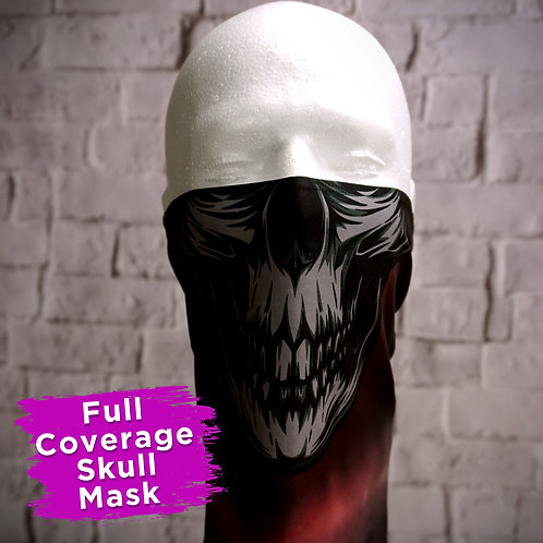 Full Coverage Skull Face Covering Gaitors