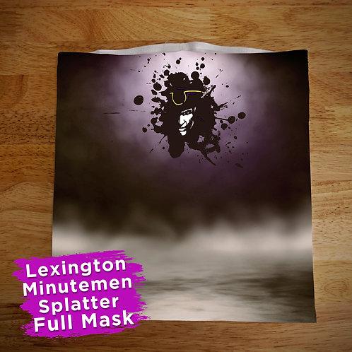 Full Color Lexington Splatter Face Covering Gaitor