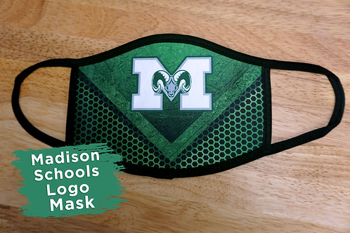 Madison School Logo Mask 1