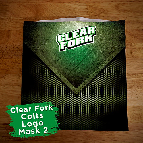 Clear Fork Face Covering Gaitor