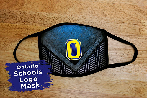 Ontario School Logo Mask