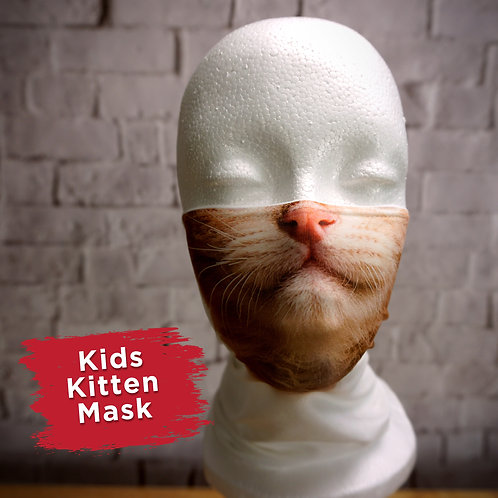Kitten Face Covering Gaitor