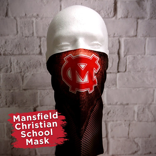 Mansfield Christian Full Color Face Covering Gaitor