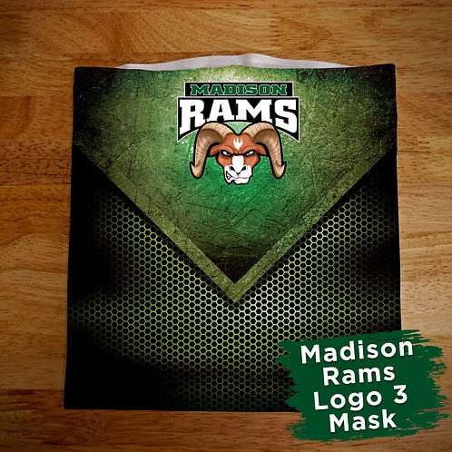 Madison Rams Face Covering Gaitor