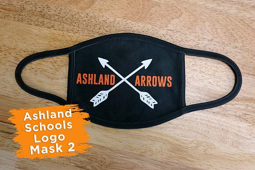 Ashland Arrows School Mask 2