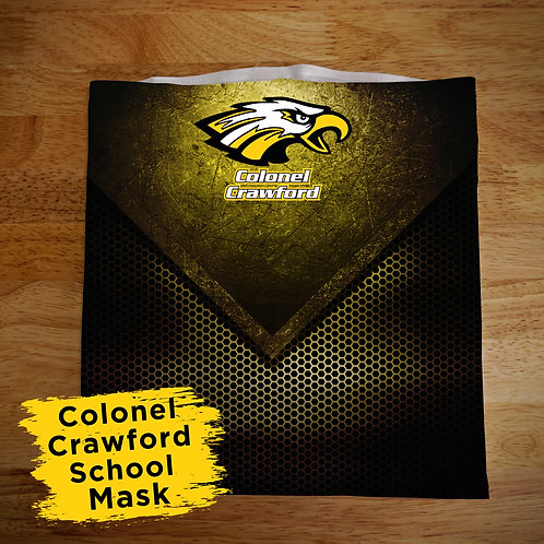 Colonel Crawford Full Color Face Covering Gaitor