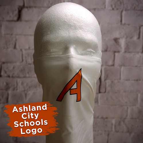 Ashland Schools Logo Only Face Covering Gaitor