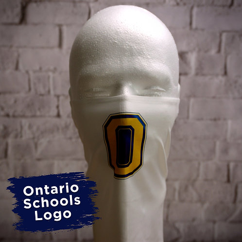 "Ontario Block ""O"" Logo Only Face Covering Gaitor"