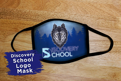 Discovery School Logo Mask