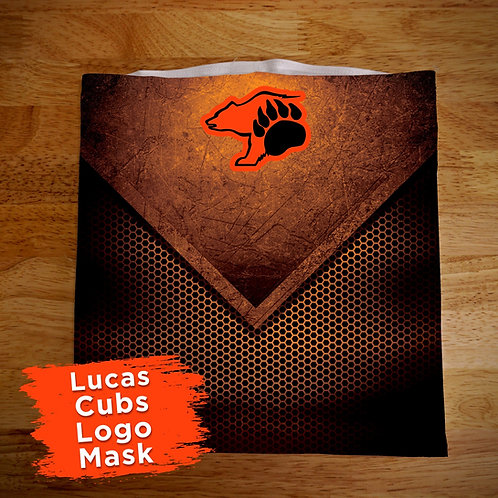 Lucas Cubs Face Covering Gaitor