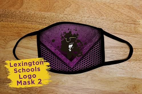 Lexington School Logo Mask 2