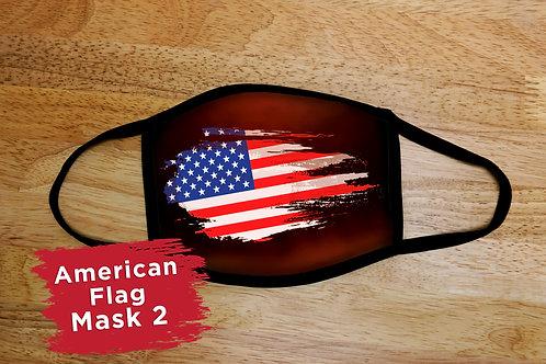 American Flag Mask 2