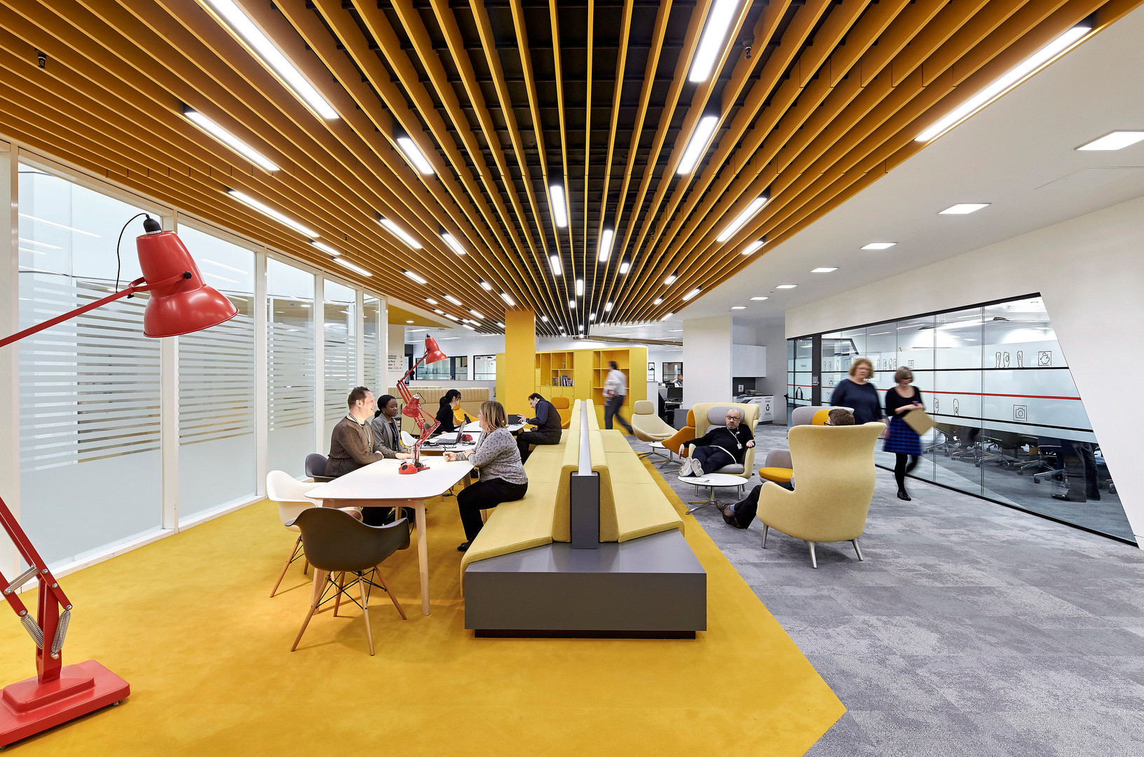 """The space is incredibly vibrant and dynamic, transforming the way we work!"""