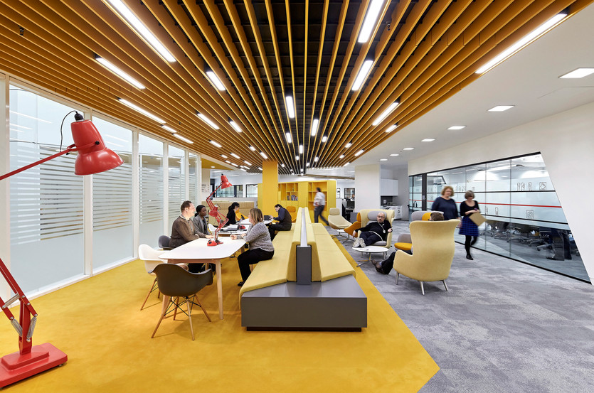 """""""The space is incredibly vibrant and dynamic, transforming the way we work!"""""""