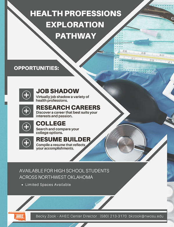 Health Professions Exploration Pathways