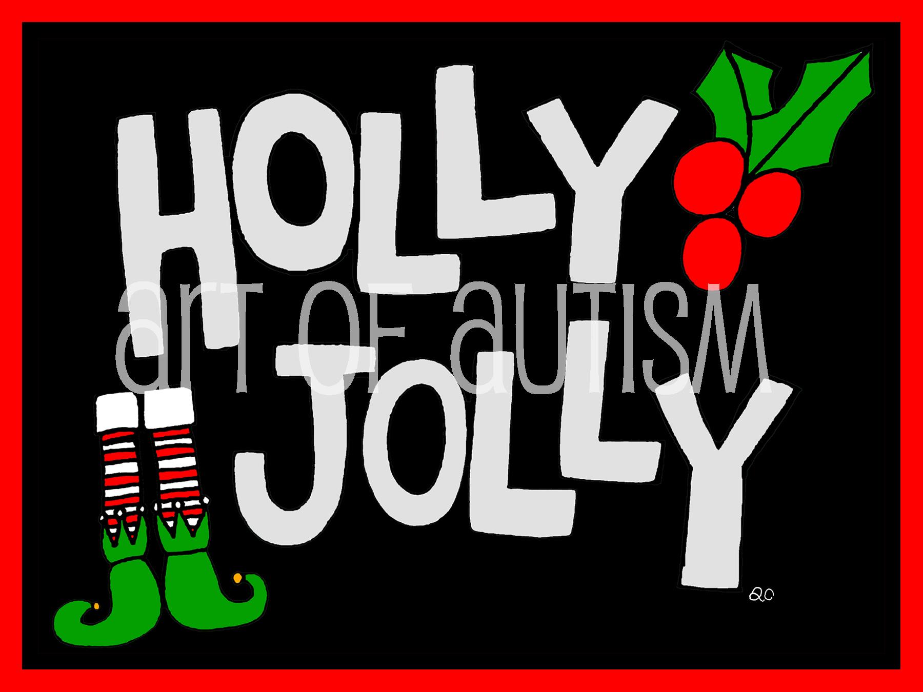 19-019 Holly Jolly
