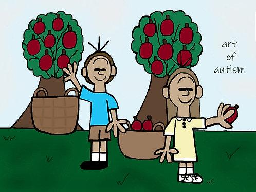 21-010 Picking Apples