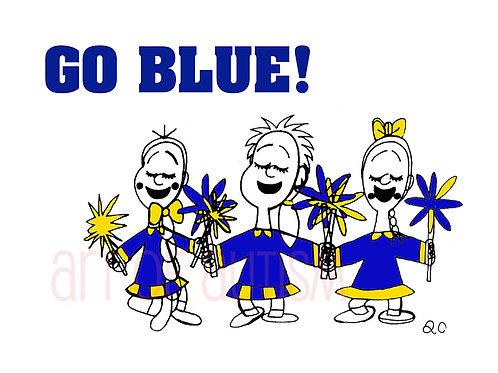 12-002 Go Blue