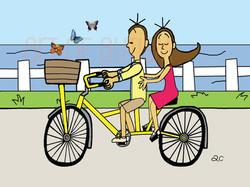 16-016 Bike & Butterflies