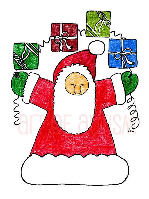 09-029 Lundberg Santa