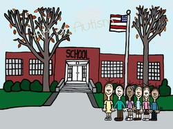 School - web