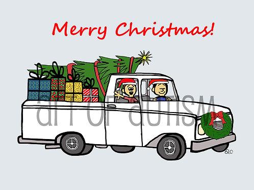 18-016 Christmas Truck