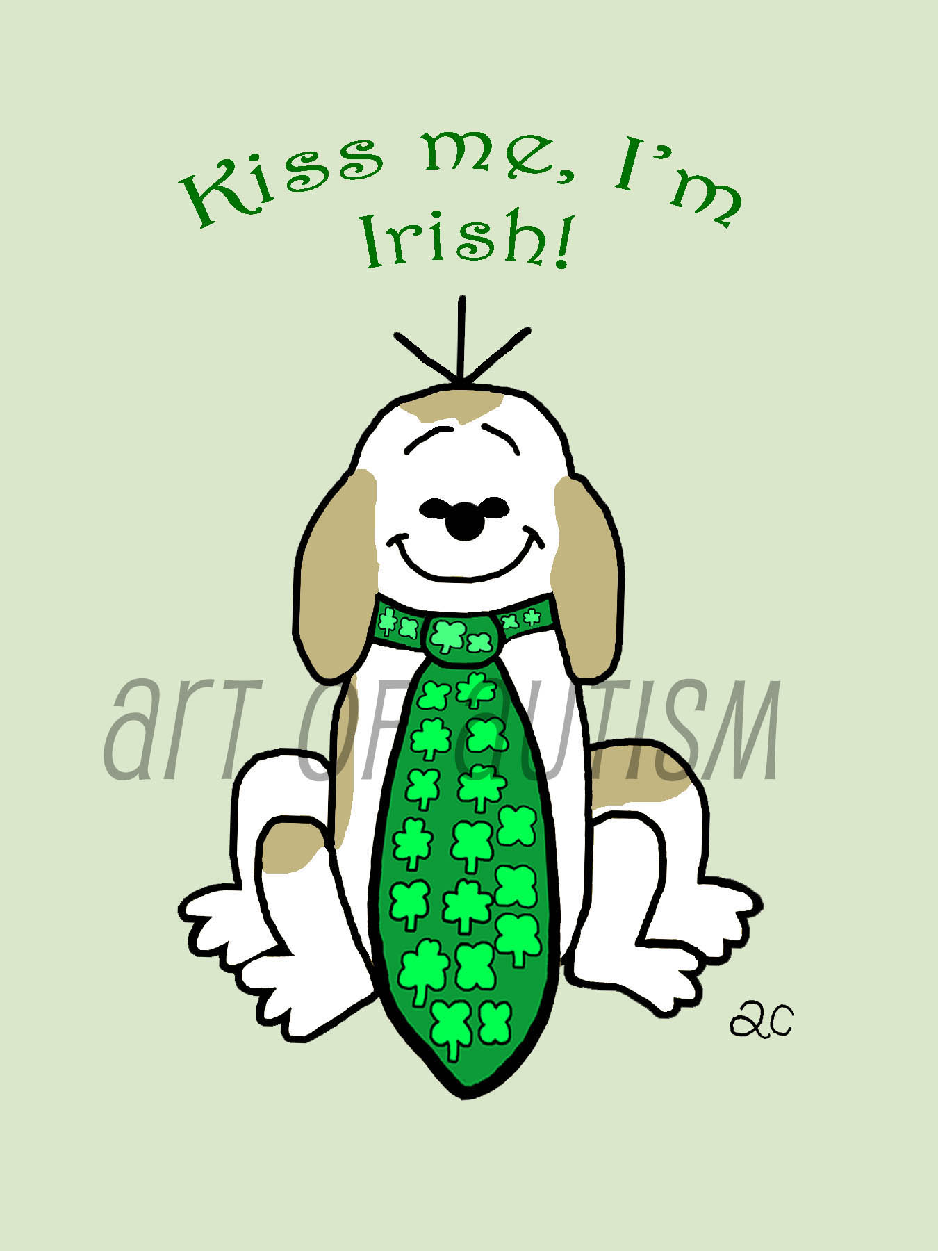 19-006 Dog and Tie