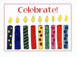 11-005 Nine Birthday Candles