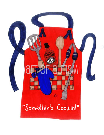 11-024 Barbeque Apron
