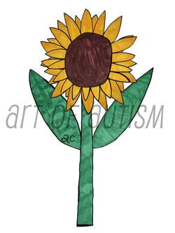 17-009 Sunflower-web