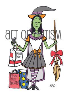14-015 Pretty Witch