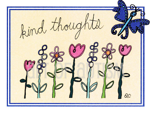 11-030 Kind Thoughts