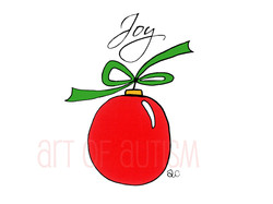 09-027 Christmas Ornament