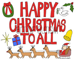 15-034 Happy Christmas To All