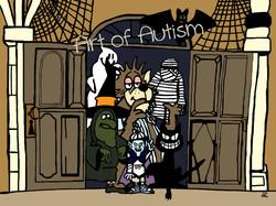 Halloween Door - web