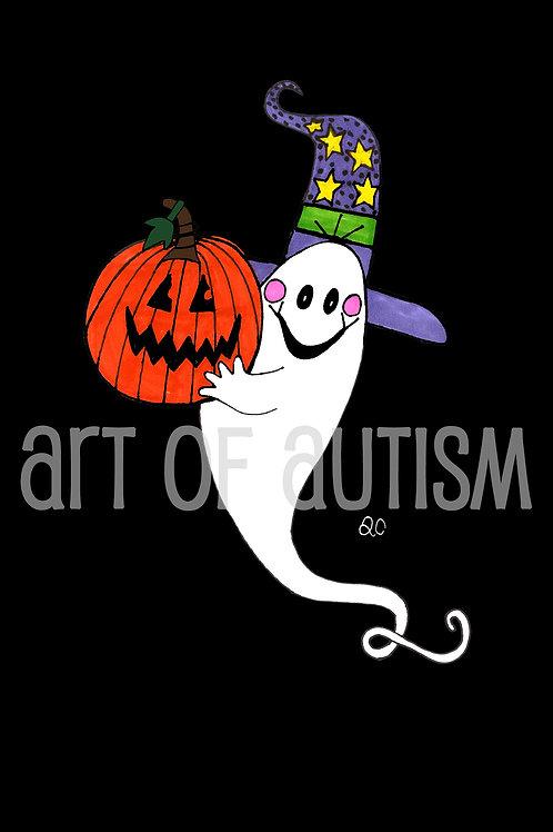 11-032 Purple hat Ghost
