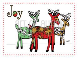 12-019 Three Reindeer