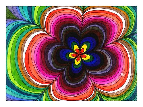 11-017 Groovy Flower