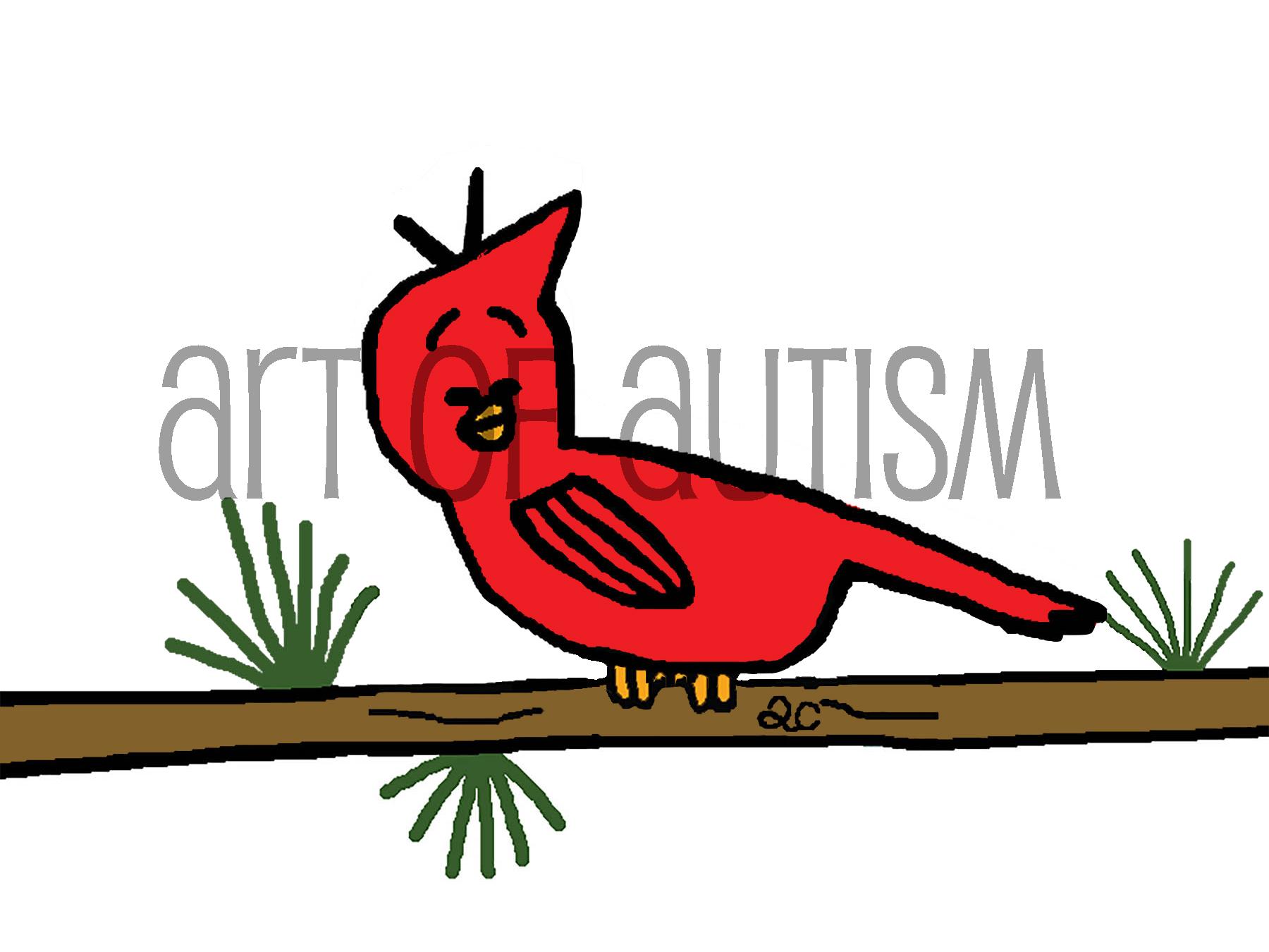 17-013 Red Bird